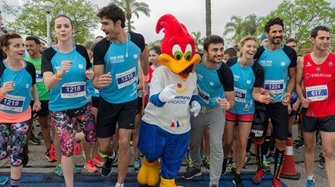 More than 2000 people lace up for the 5th PortAventura Foundation Charity Race in aid of Associació Down Tarragona